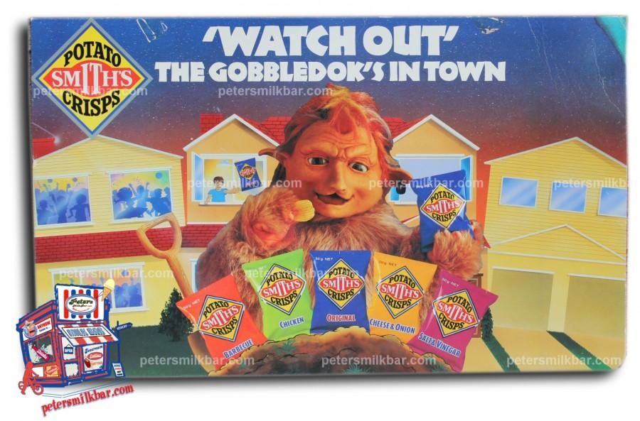 GobbleDok Smiths Chips Milk Bar Signs