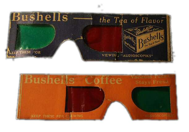 Bushells 3D Glasses