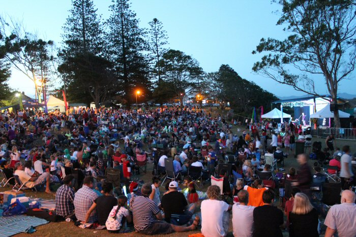 Urunga Carols 2013 NSW