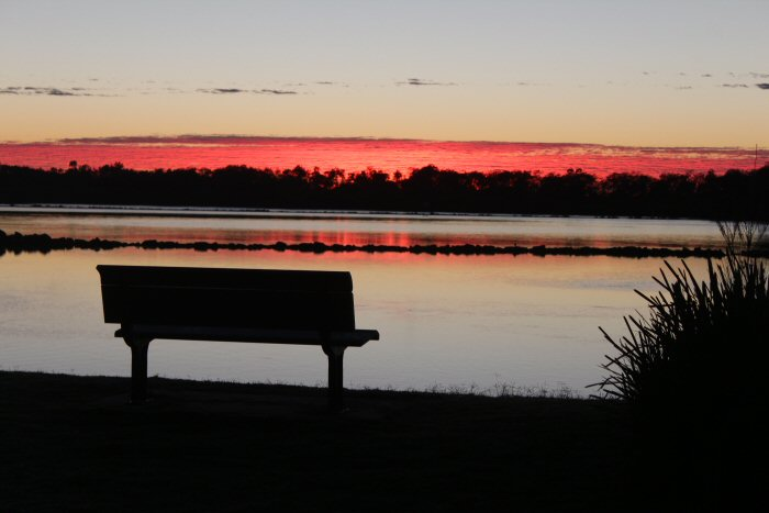 Urunga NSW Sunrise Anzac Day 2015