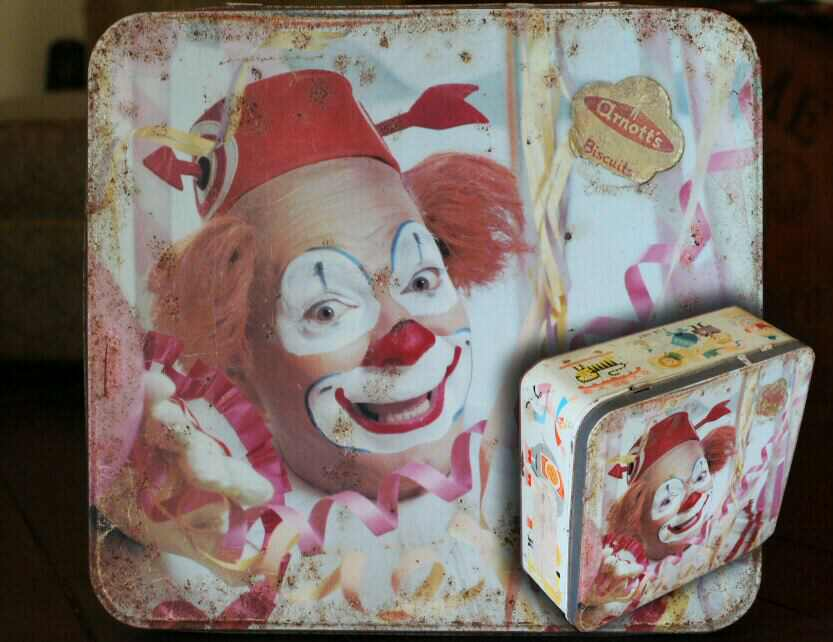 Arnotts Clown Tin