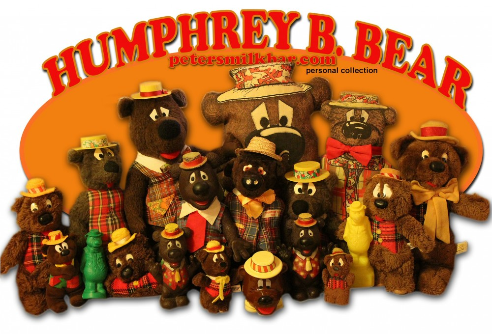 Humphrey B Bear Collection Vintage