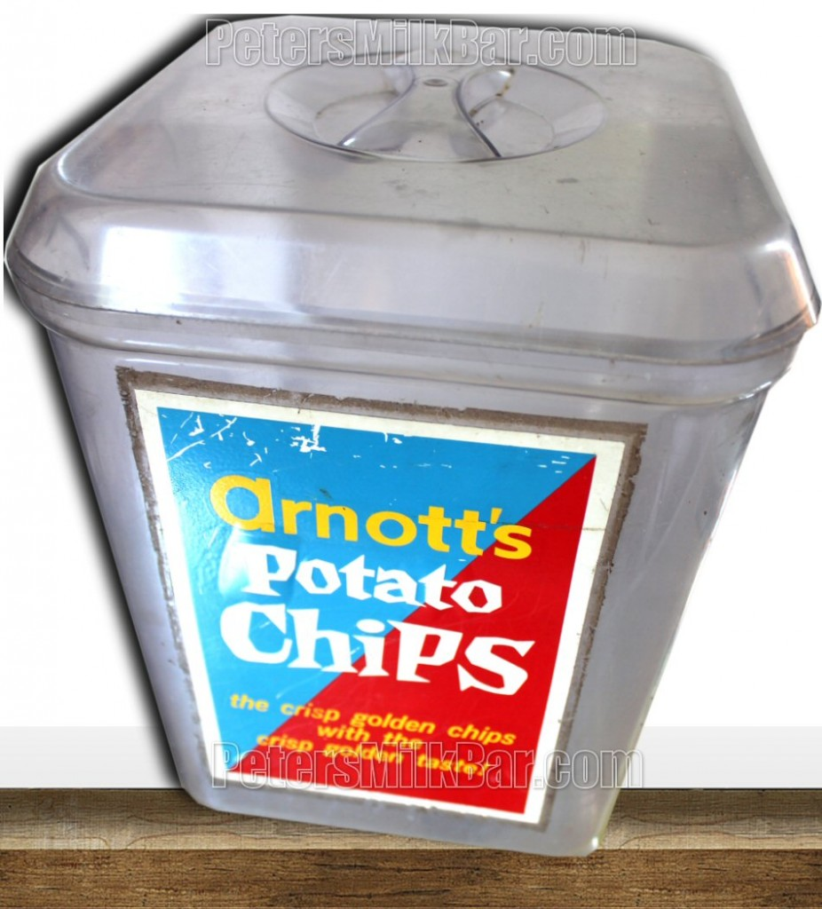 Arnotts Chips Plastic Display