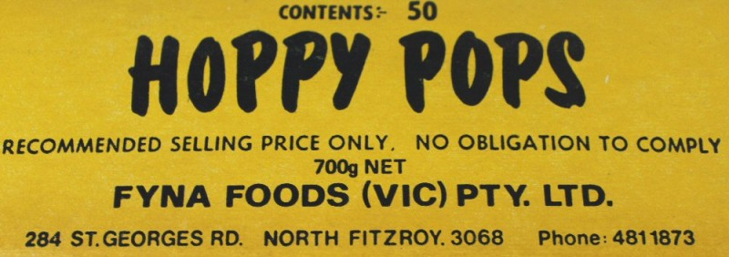 Hoppy Pops Sherbet Lollies Melbourne