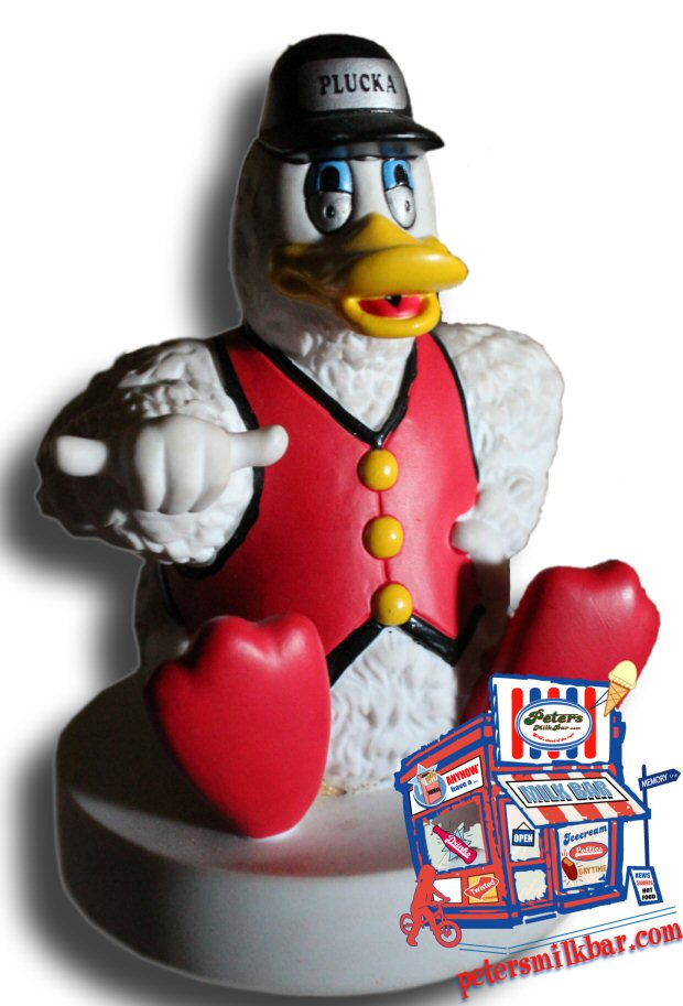 Plucka Duck Lolly Jar 1997 Lid