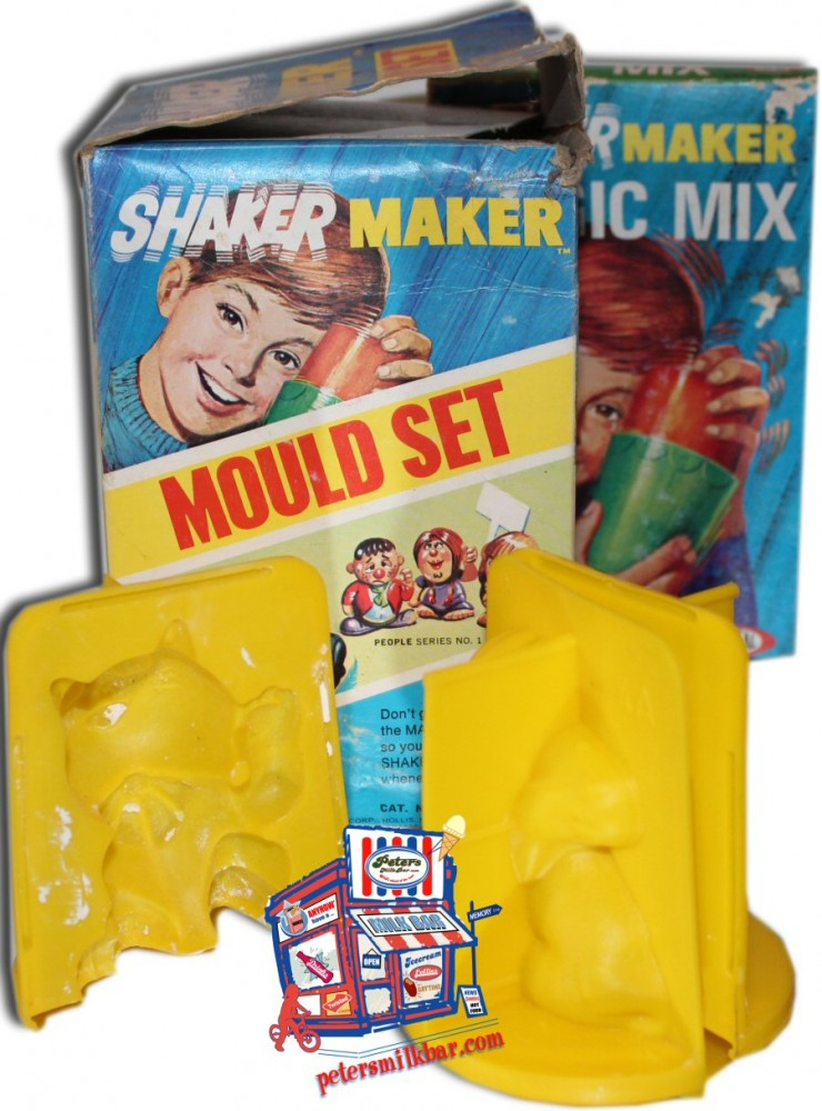 Shaker Maker Vintage Mould Set