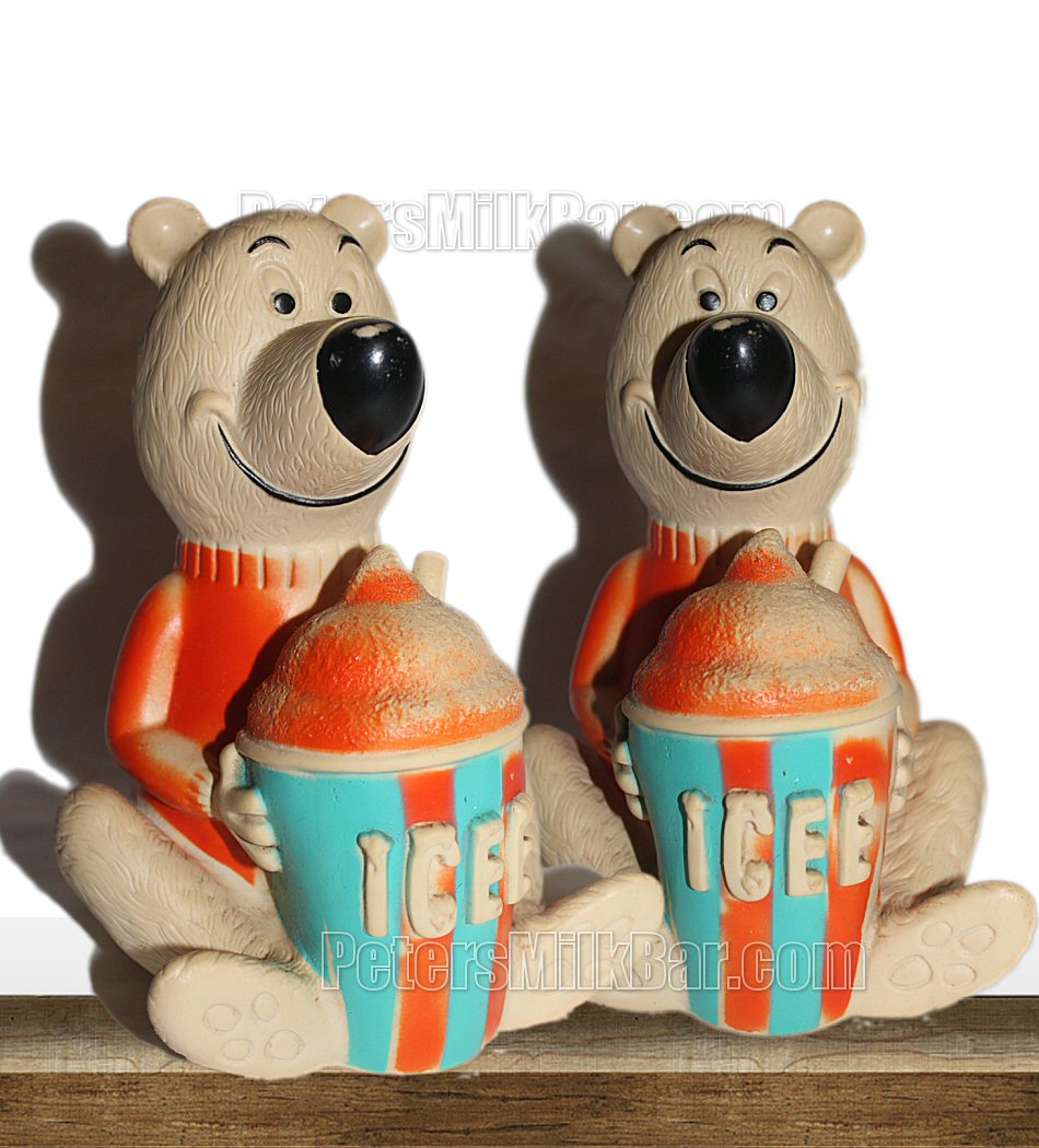 Icee Bear Money Box Vintage 70s