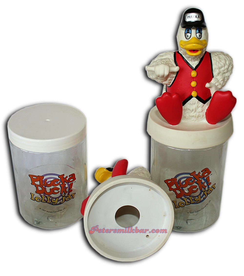 Plucka Duck Lollie Jar Somers Carrol 1995