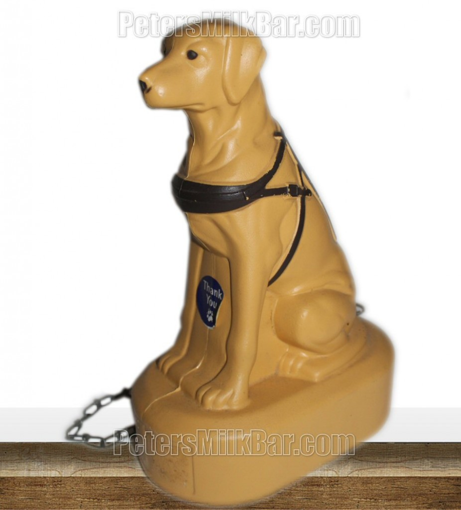 Vintage Guide Dog Donation Box