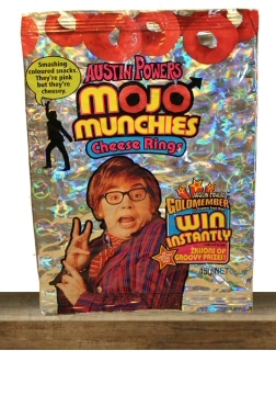 Austin Powers Featured Vintage Snacks