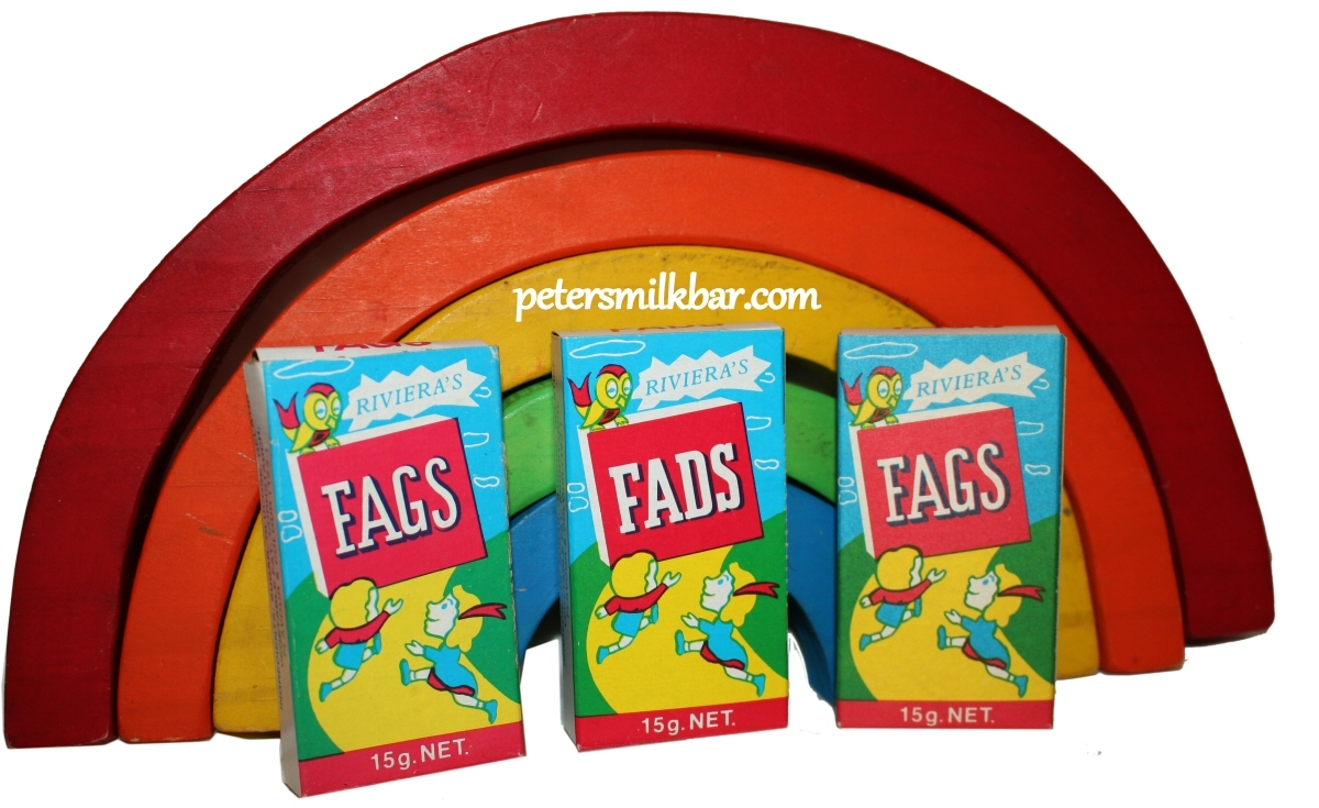 Fags Fads Retro Packets