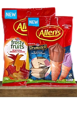 Allens Peters Drumstick & Frosty Fruit Ice Cream Lollies FEATURED
