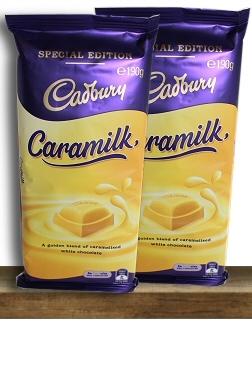Cadbury CaraMilk Recall Block Australia Special Edition