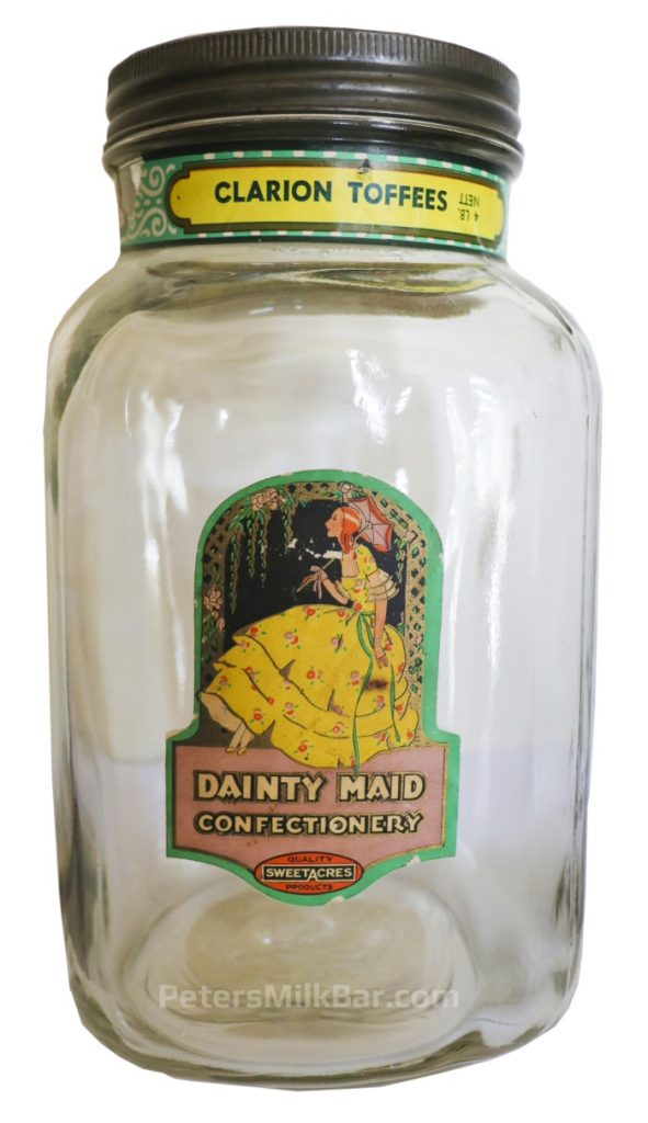 Sweetacres Jar Counter Display Dainty Maid